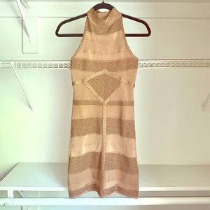 Gold Caramel Dress